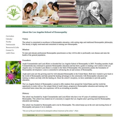 Homeopathy School