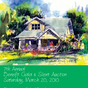 Fundraiser program cover