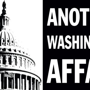 "Logo for the play ""Another Washington Affair"""