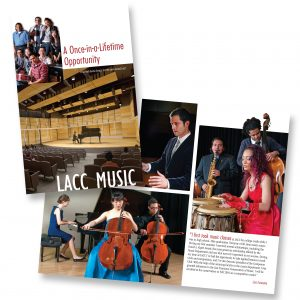 Fundraising brochure for Los Angeles City College