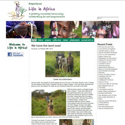 Charity in Africa